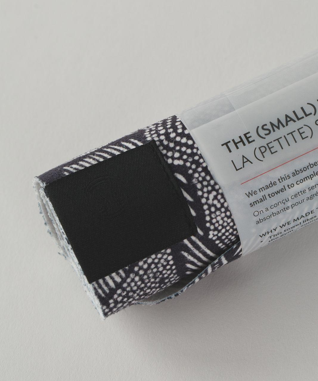 Lululemon The (Small) Towel - Dottie Tribe White Black