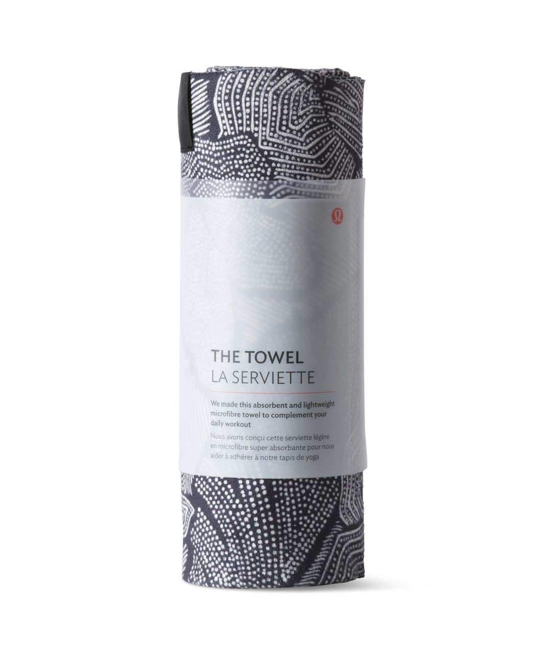 Lululemon The Towel - Dottie Tribe White Black