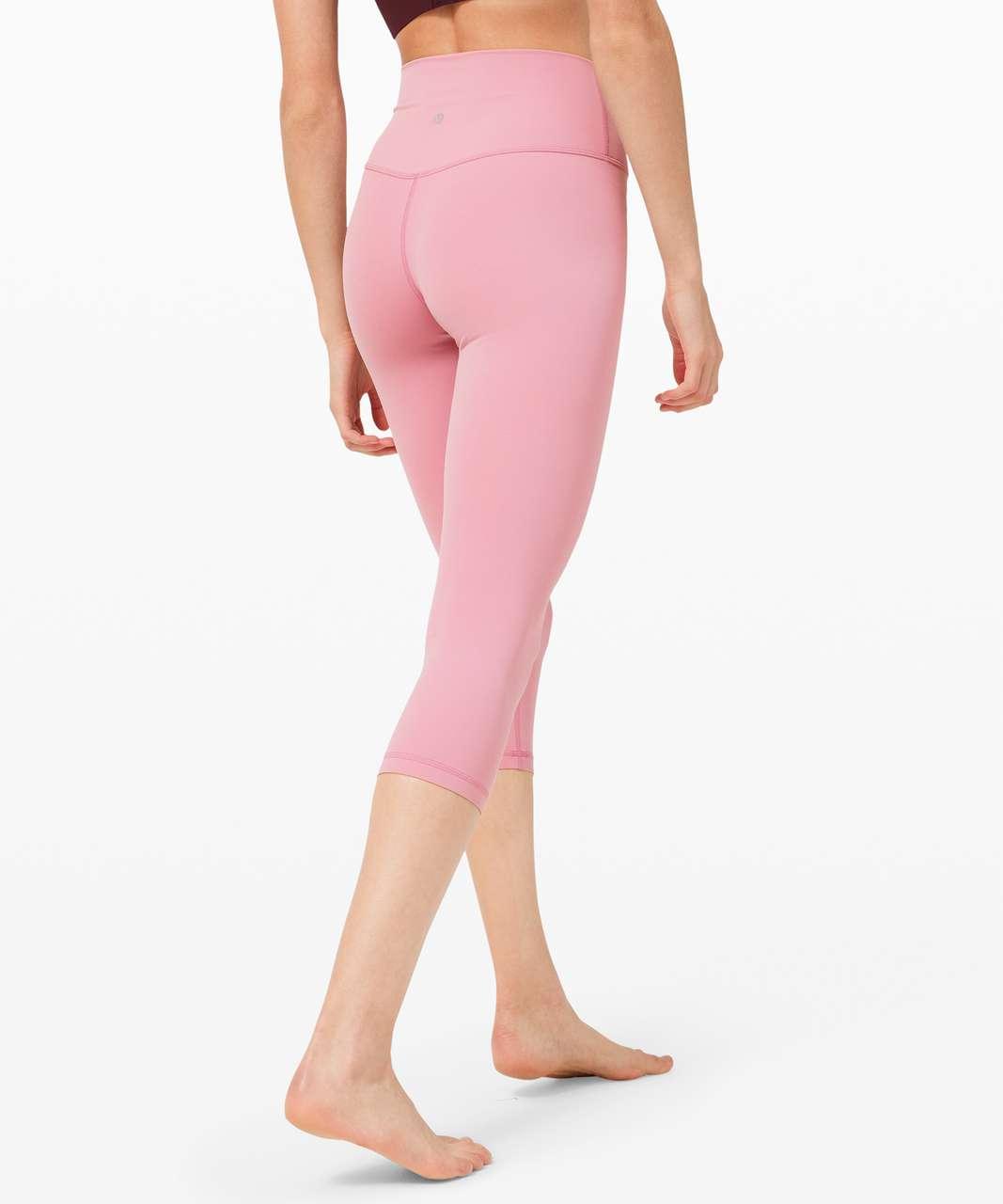"Lululemon Align Crop *21"" - Pink Taupe"