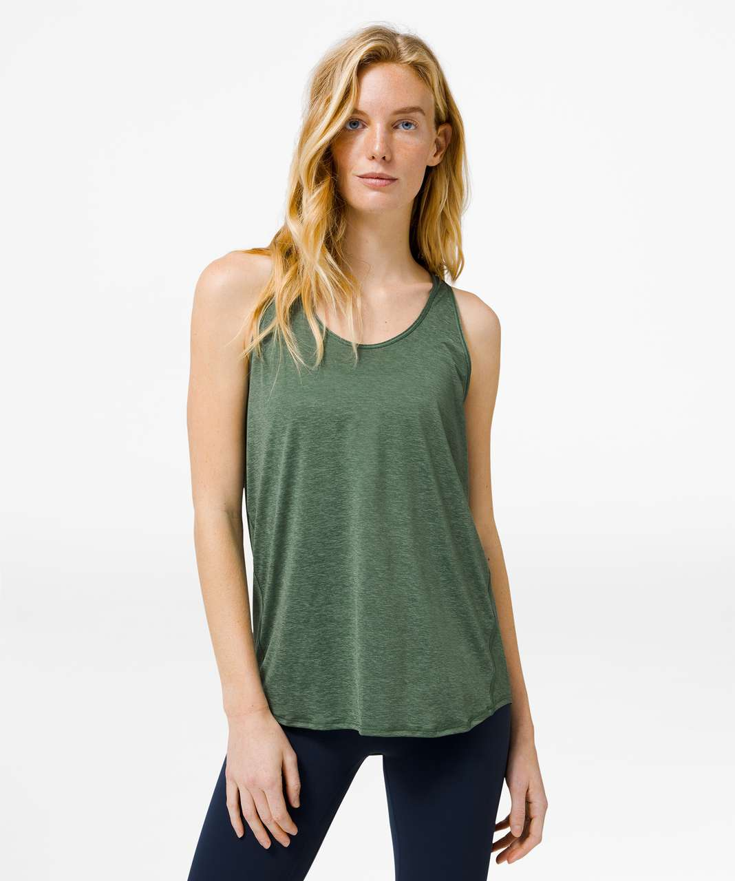 Lululemon Essential Tank *Pleated - Algae Green