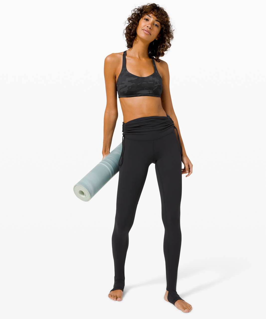 Lululemon Free To Be Bra Wild *Light Support, A/B Cup - Incognito Camo Multi Grey