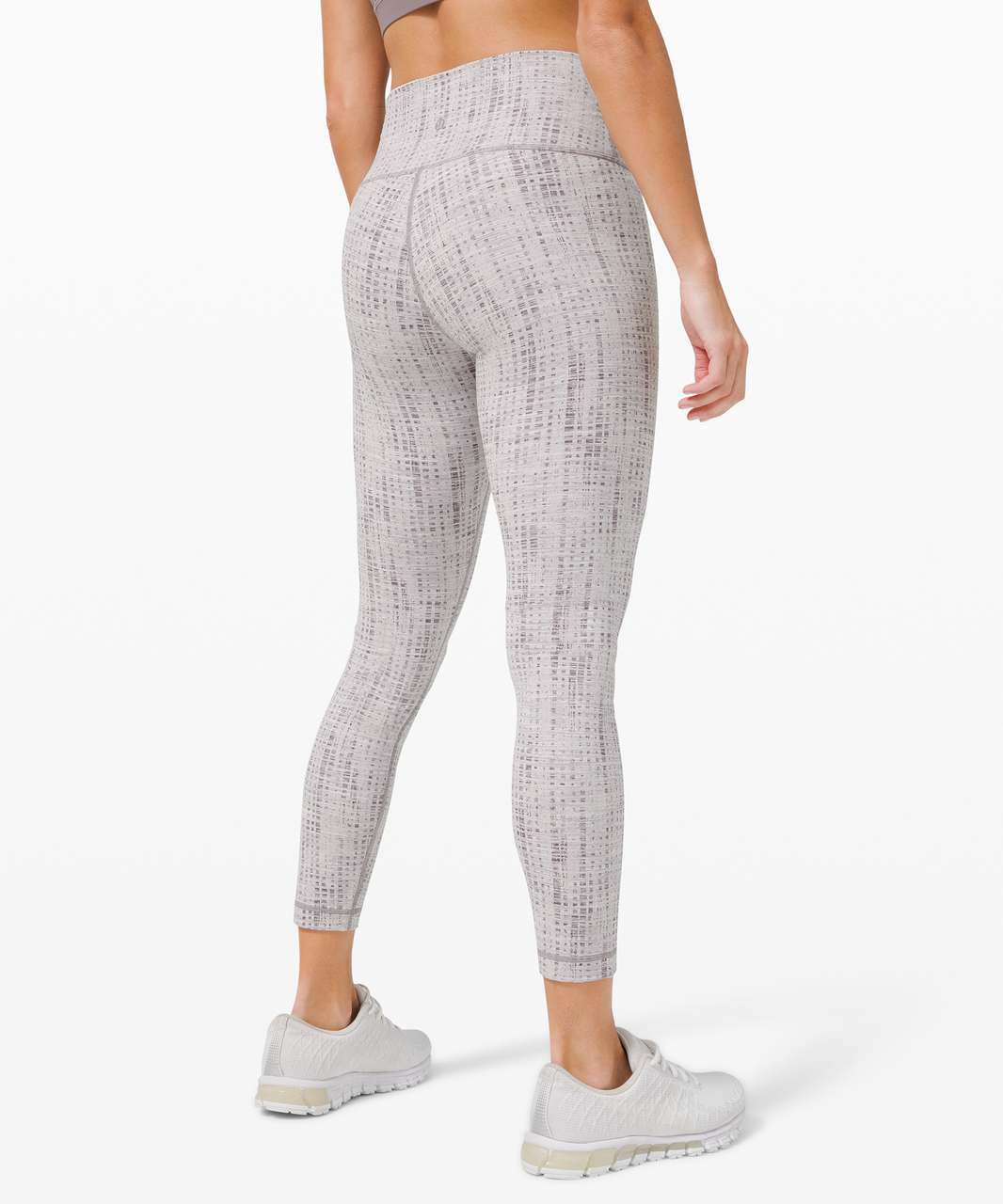 "Lululemon Wunder Under High-Rise Tight 25"" *Luxtreme - Action Jacquard Moonphase Silver Lining"