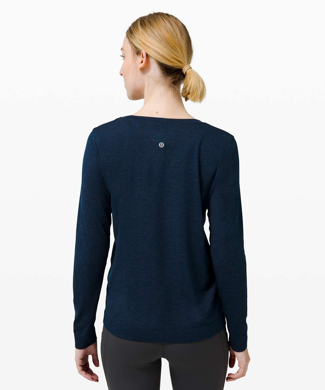 Lululemon Swiftly Relaxed Long Sleeve - Ink Blue / True Navy