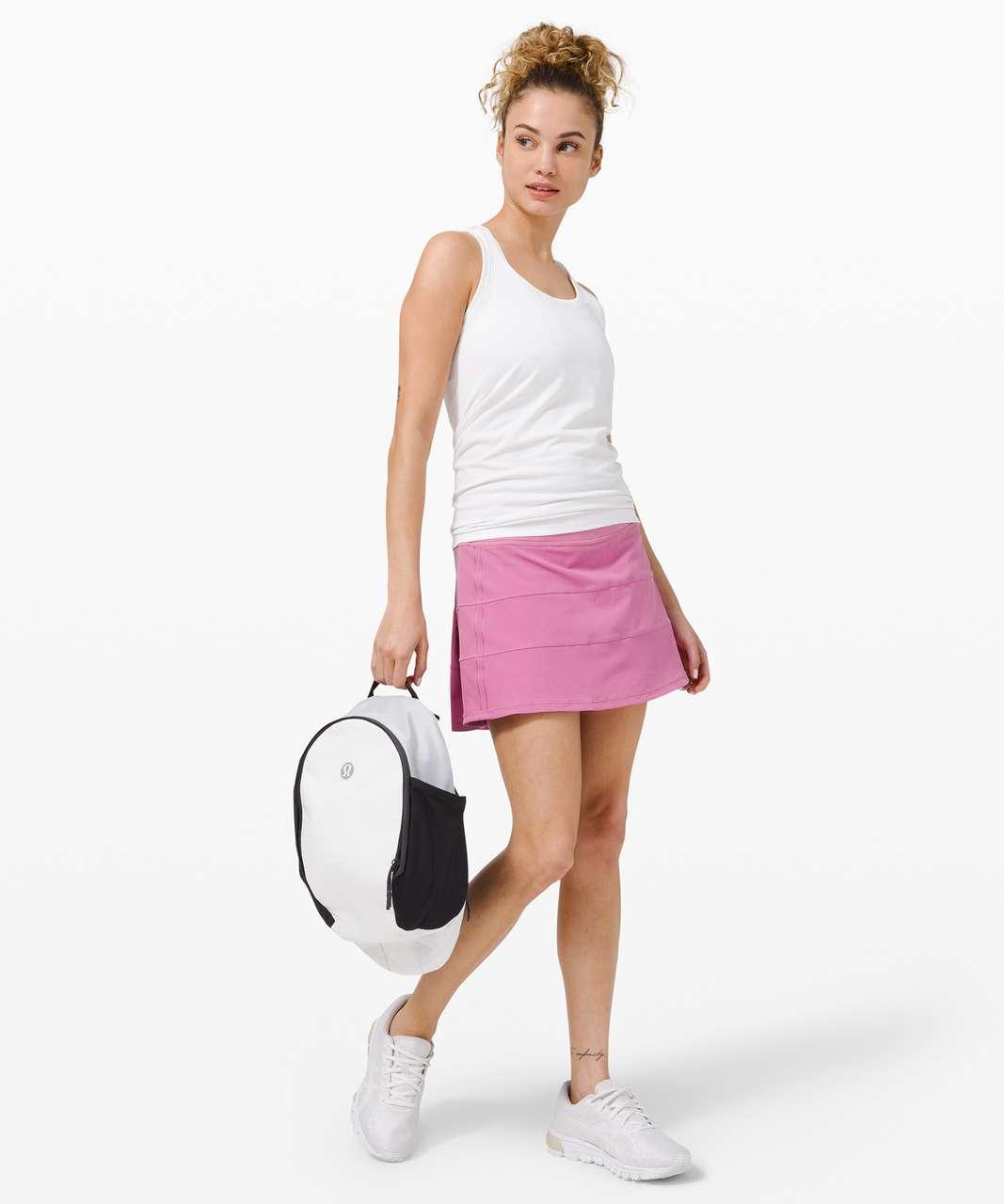 "Lululemon Pace Rival Skirt (Tall) *4-way Stretch 15"" - Magenta Glow"