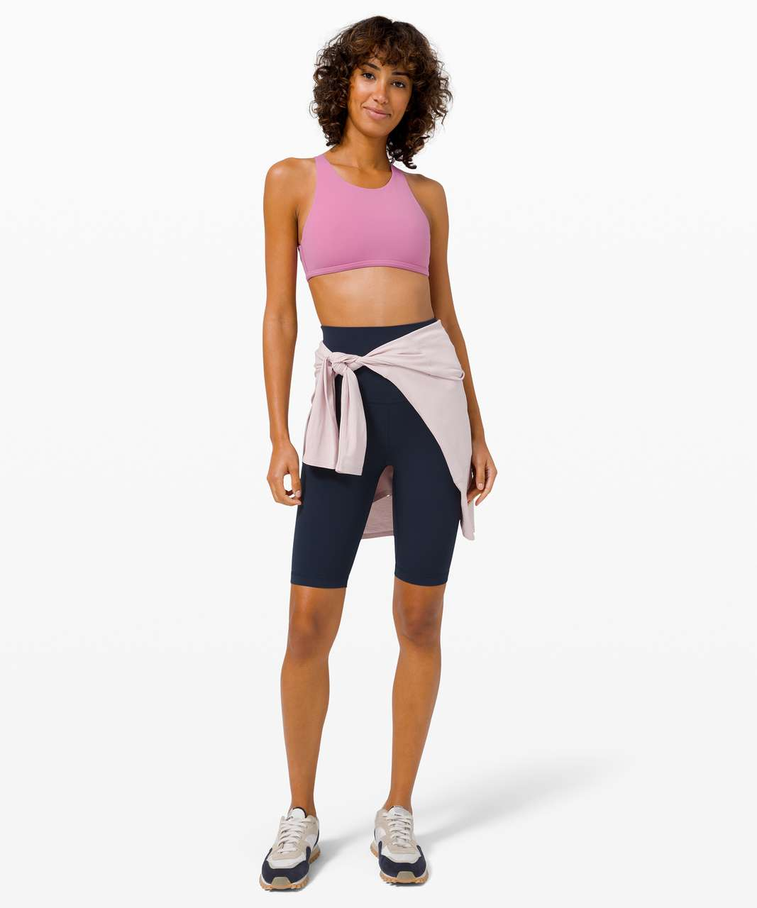 Lululemon Free To Be Bra Wild High Neck*Light Support, A/B Cup (Online Only) - Magenta Glow