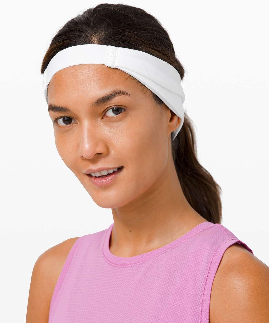 Lululemon Fringe Fighter Headband - White