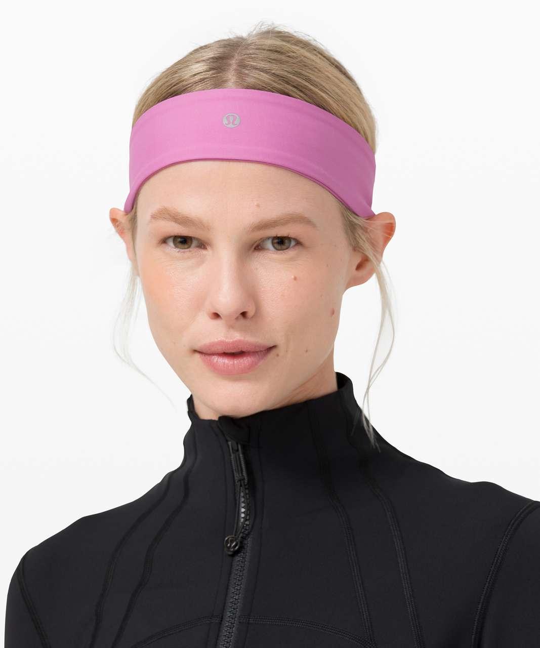 Lululemon Fly Away Tamer Headband II - Magenta Glow