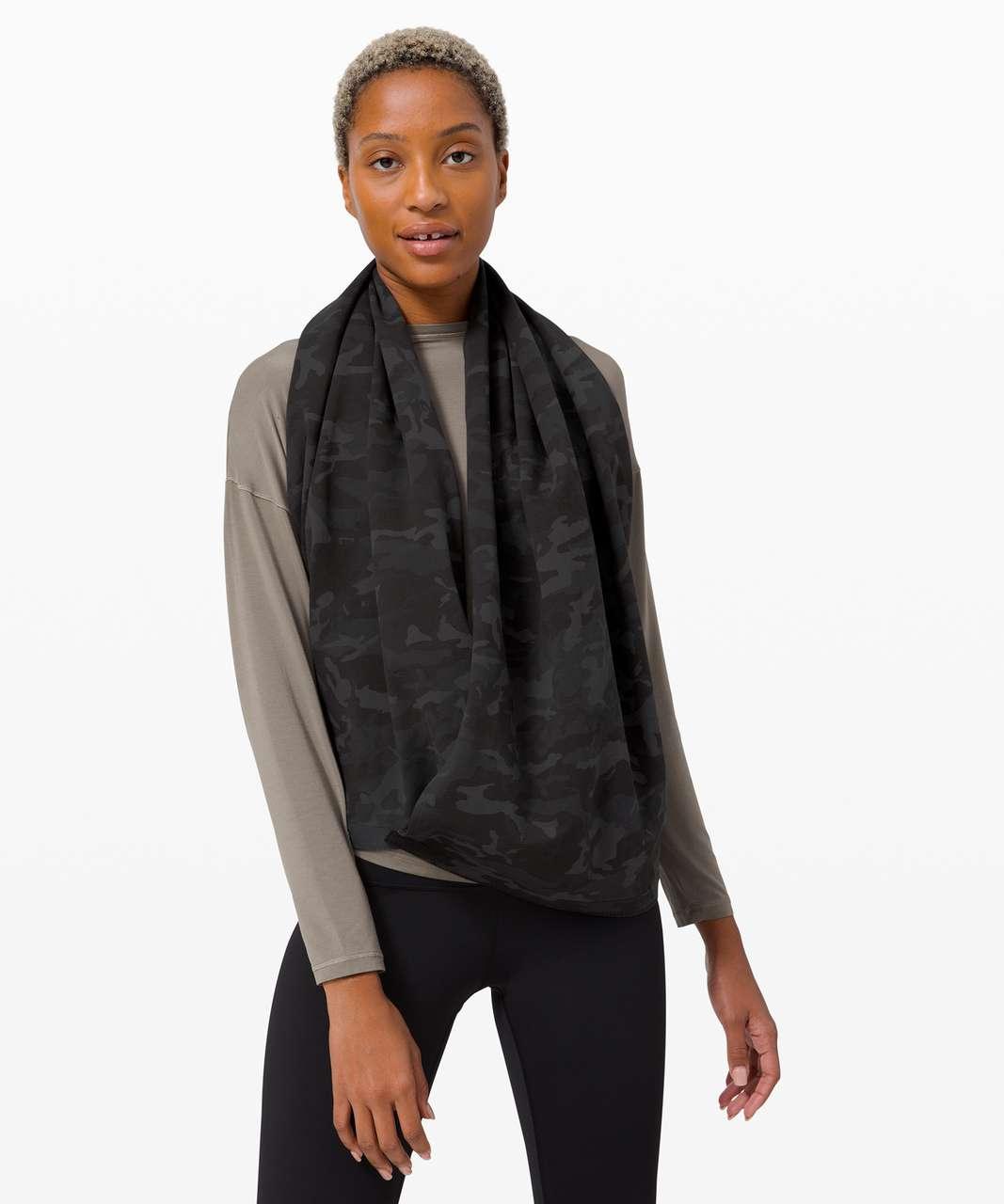 Lululemon Vinyasa Scarf *Cotton - Incognito Camo Multi Grey