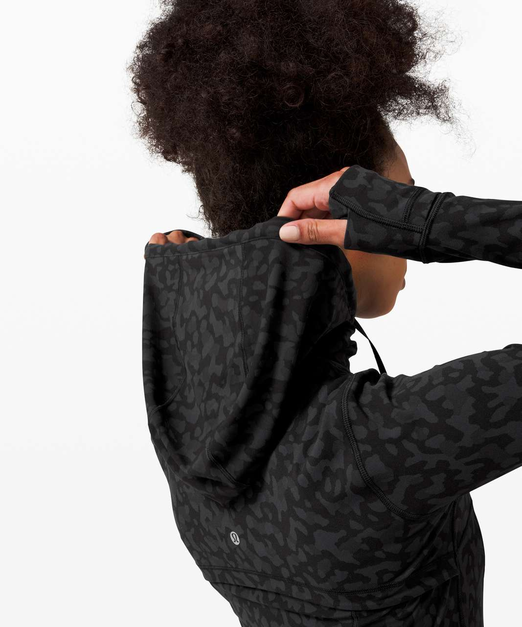 Lululemon Hooded Define Jacket *Nulu - Formation Camo Deep Coal Multi