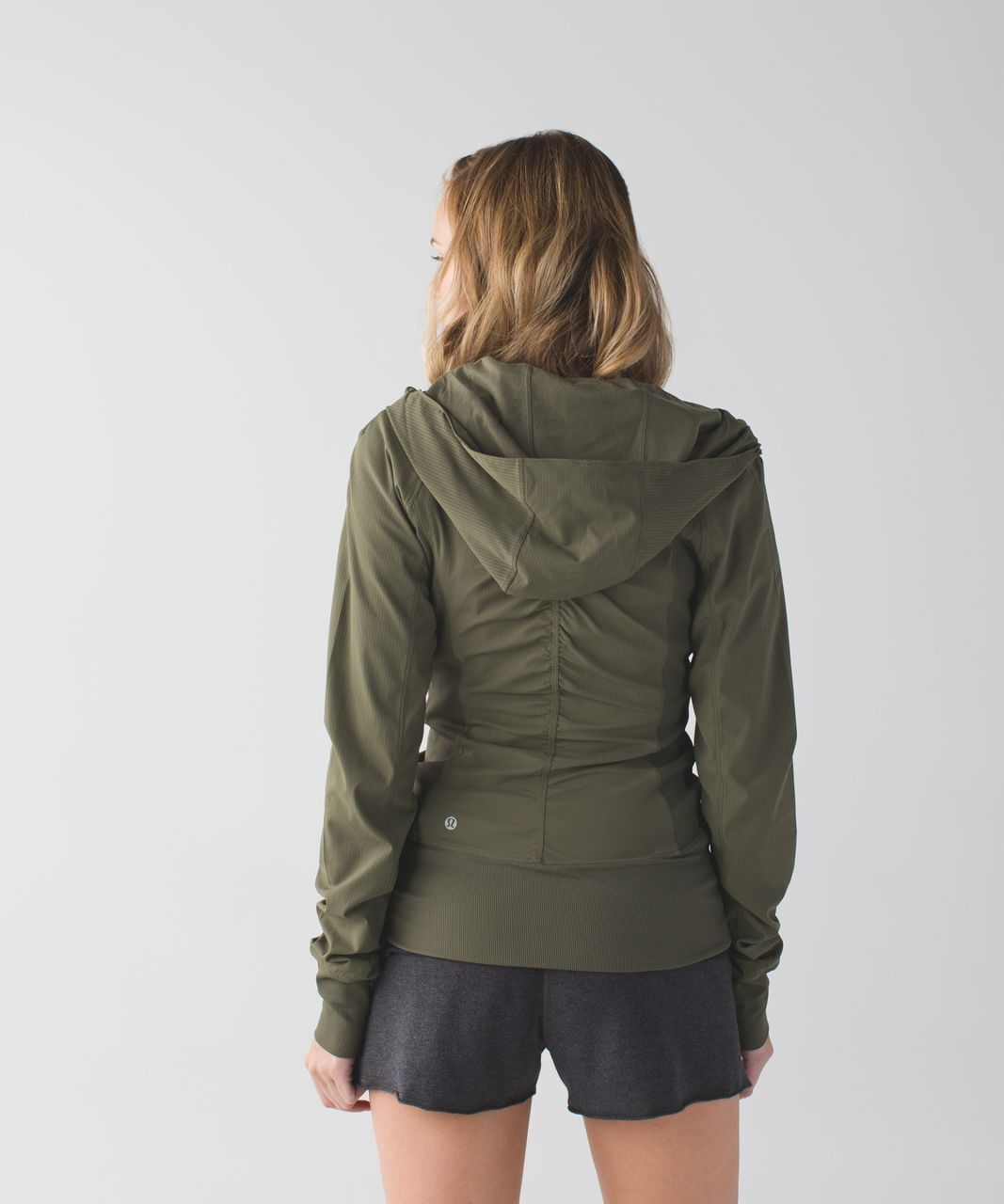 Lululemon In Flux Jacket - Fatigue Green