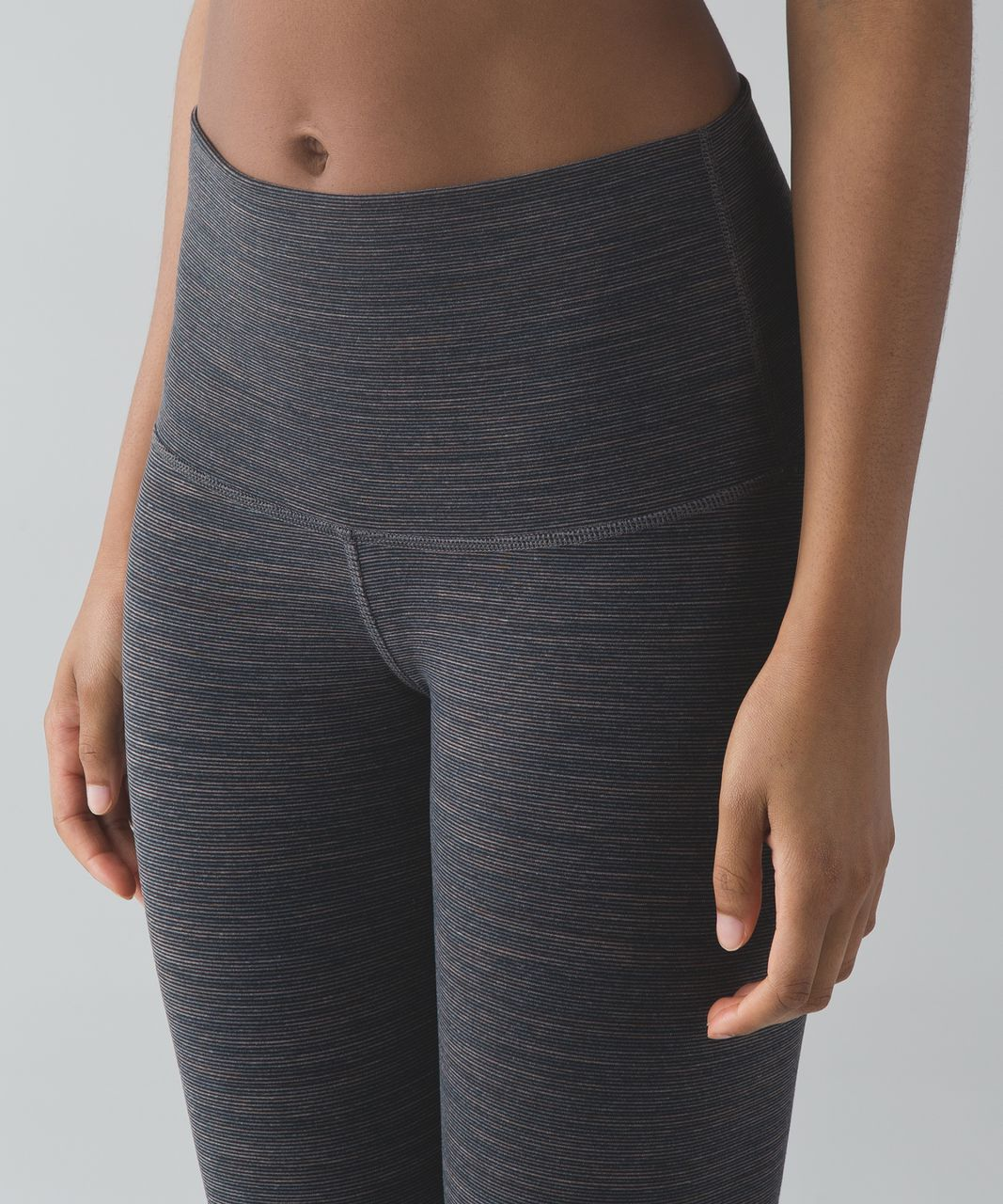 Lululemon Wunder Under Crop (Hi-Rise) - Wee Are From Space Cool Cocoa Soot Light