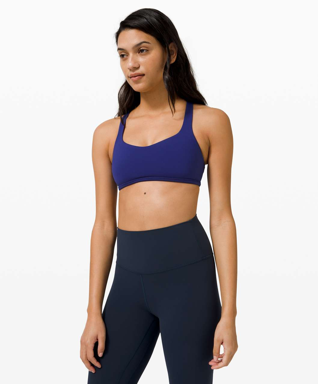 Lululemon Free To Be Bra Wild*Light Support, A/B Cup - Larkspur