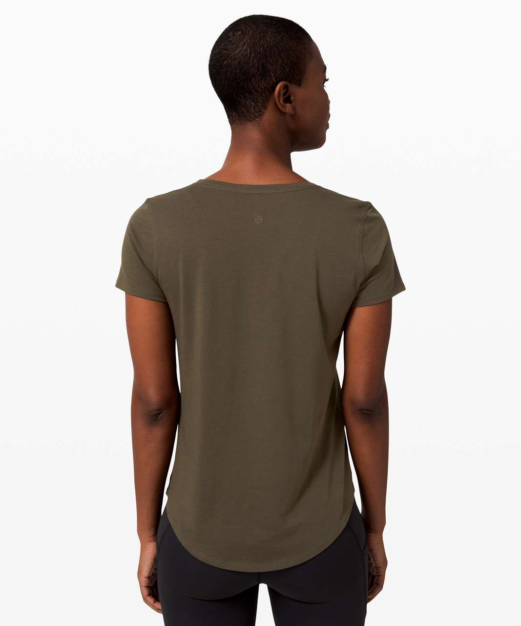 Lululemon Love Tee V - Dark Olive