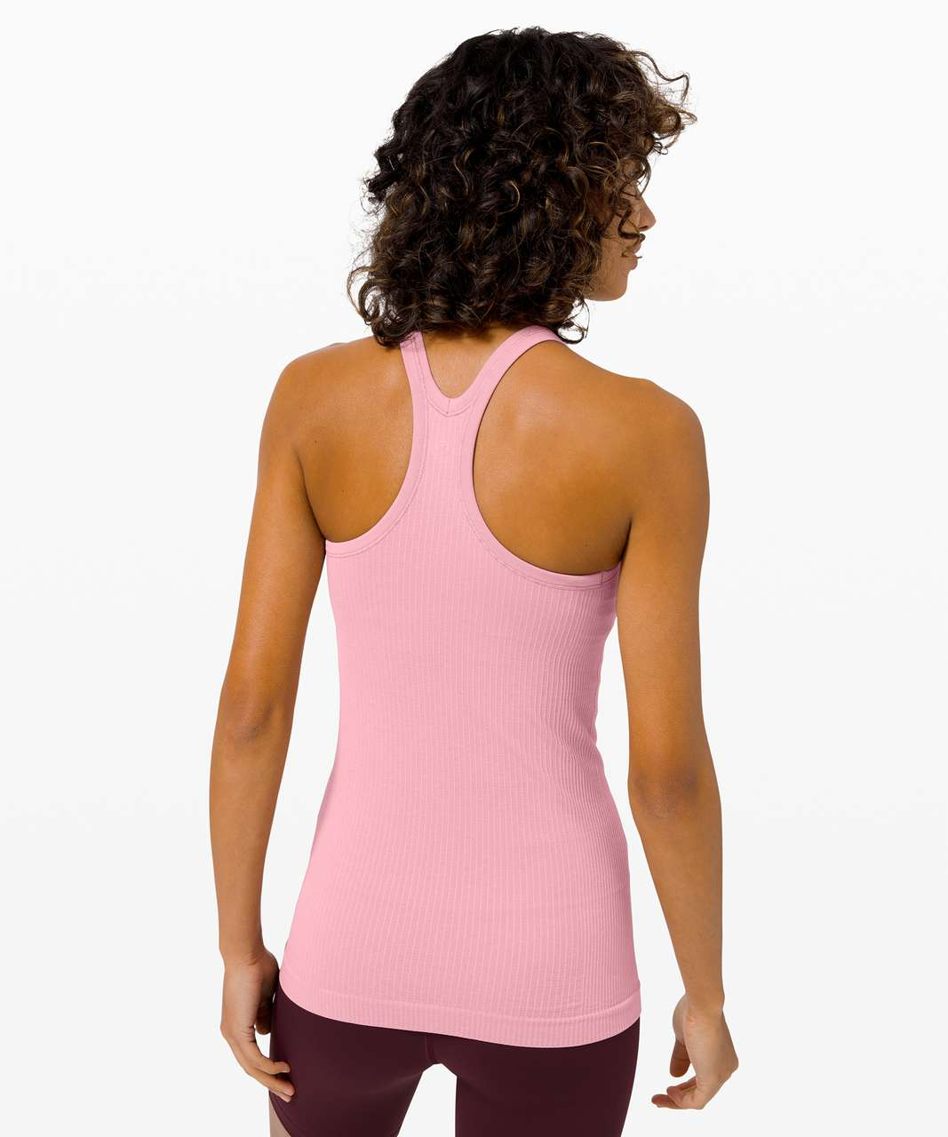 Lululemon Ebb To Street Tank *Light Support For B/C Cup - Pink Taupe