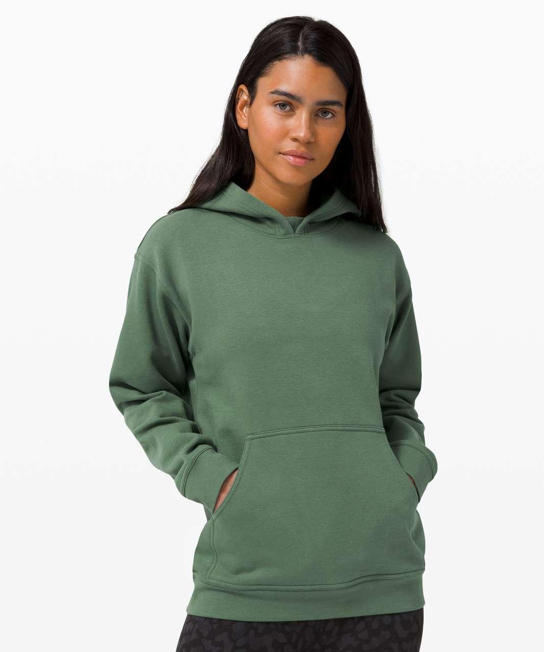 Lululemon All Yours Hoodie - Algae Green