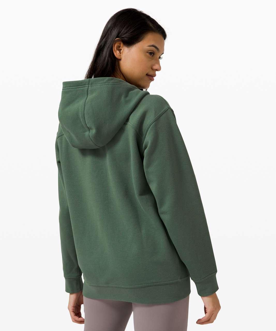 Lululemon All Yours Zip Hoodie - Algae Green