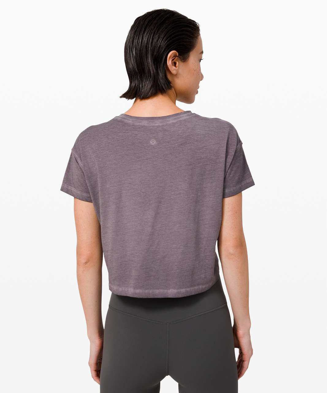 Lululemon Cates Tee *Fade - Washed Lunar Rock