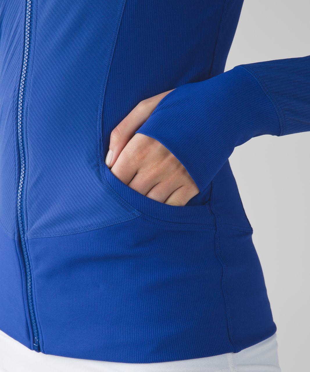 Lululemon In Flux Jacket - Sapphire Blue