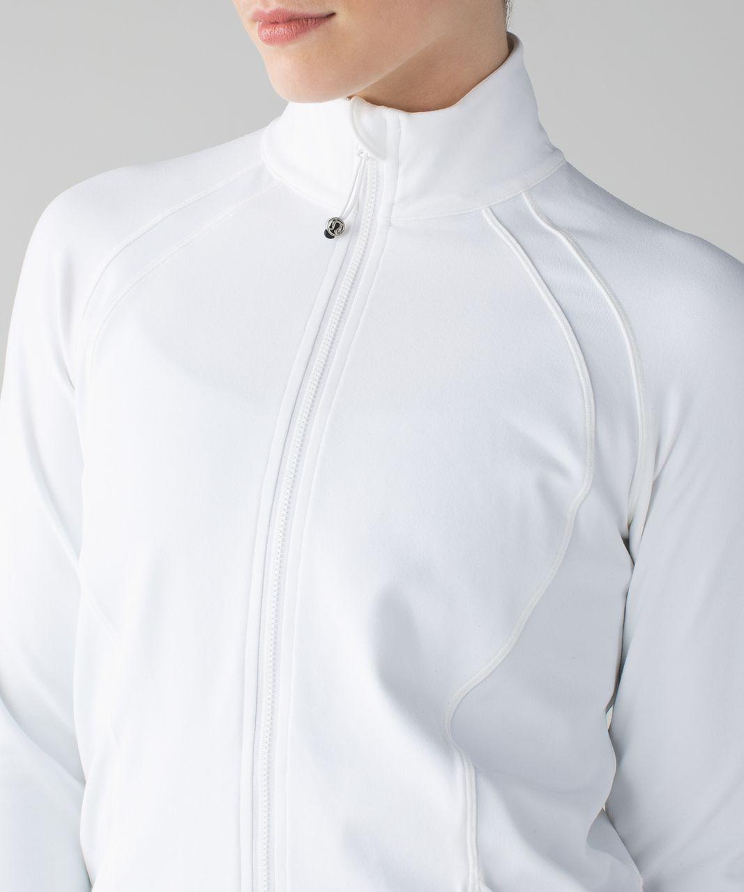 Lululemon Sunshine Salutation Jacket - White