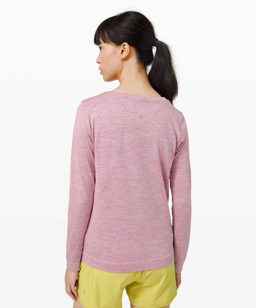 Lululemon Swiftly Relaxed Long Sleeve - Dapple Dot Magenta Glow / Fuchsia Multi