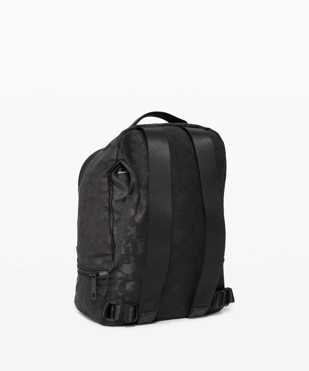 Lululemon City Adventurer Backpack Mini *10L - Fragment Camo Jacquard Black Deep Coal