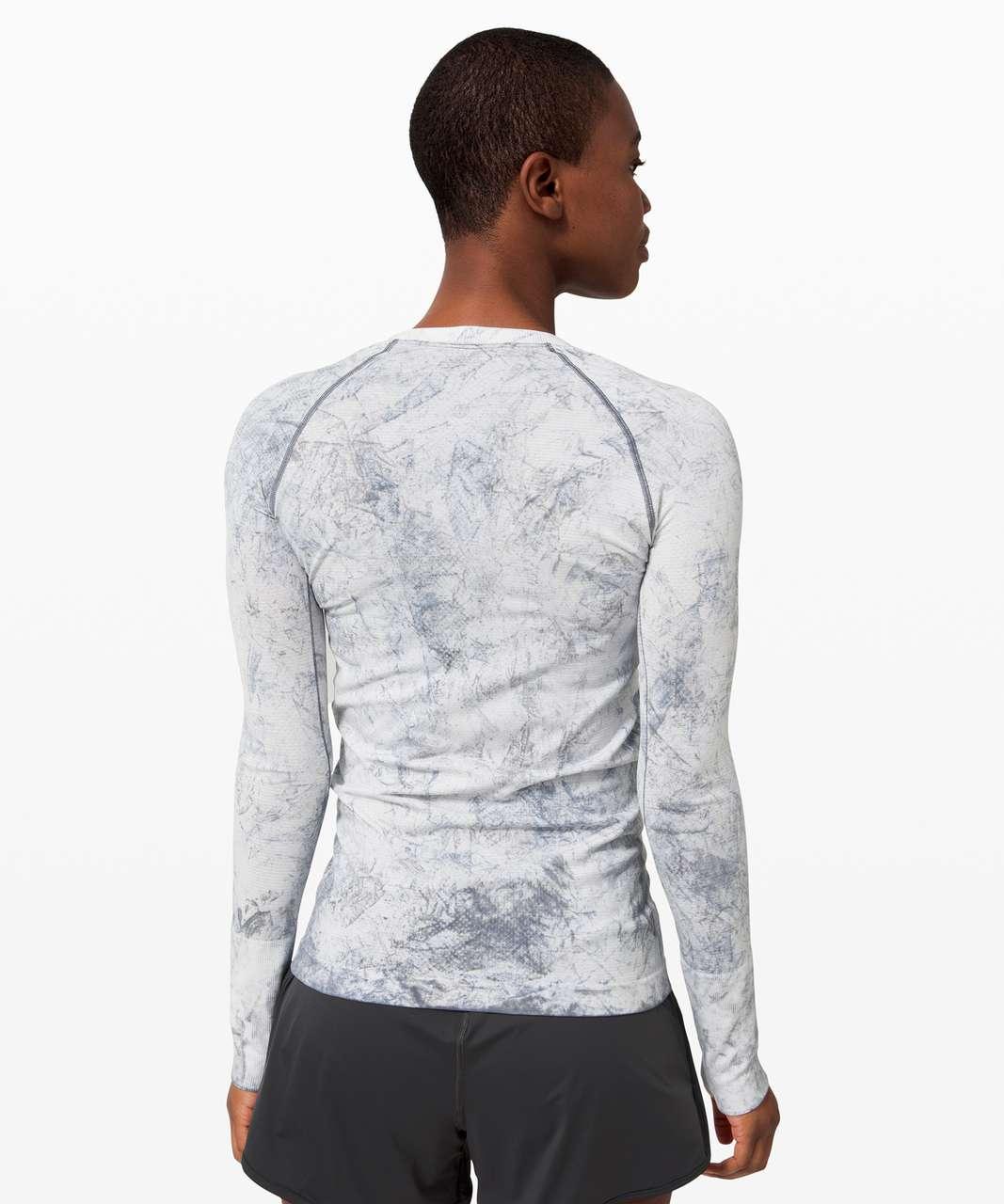 Lululemon Swiftly Tech Long Sleeve 2.0 *MultiDye - Multi Dye White / Grey / Black