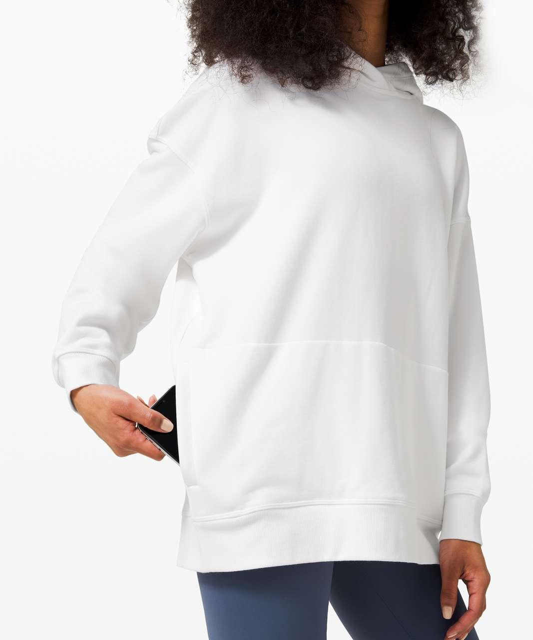 Lululemon Perfectly Oversized Hoodie - White