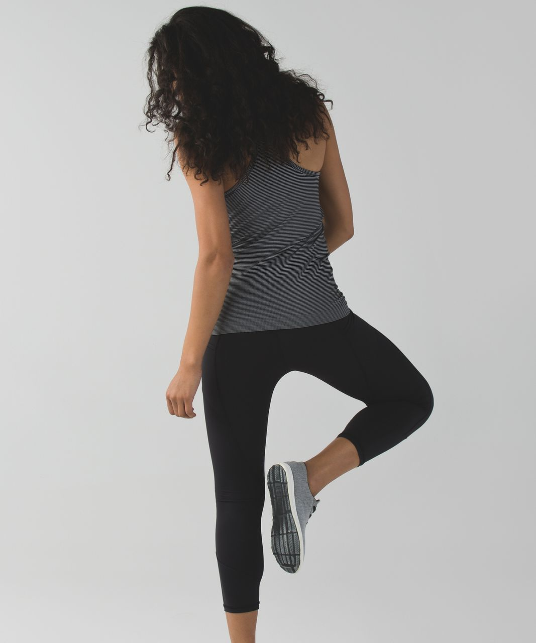 Lululemon All The Right Places Crop - Black