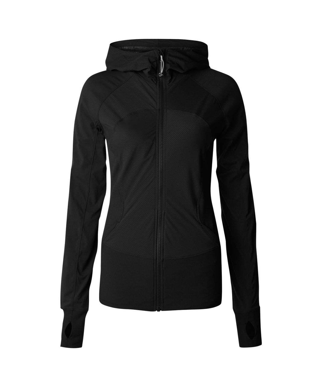 lululemon in flux jacket black lulu fanatics