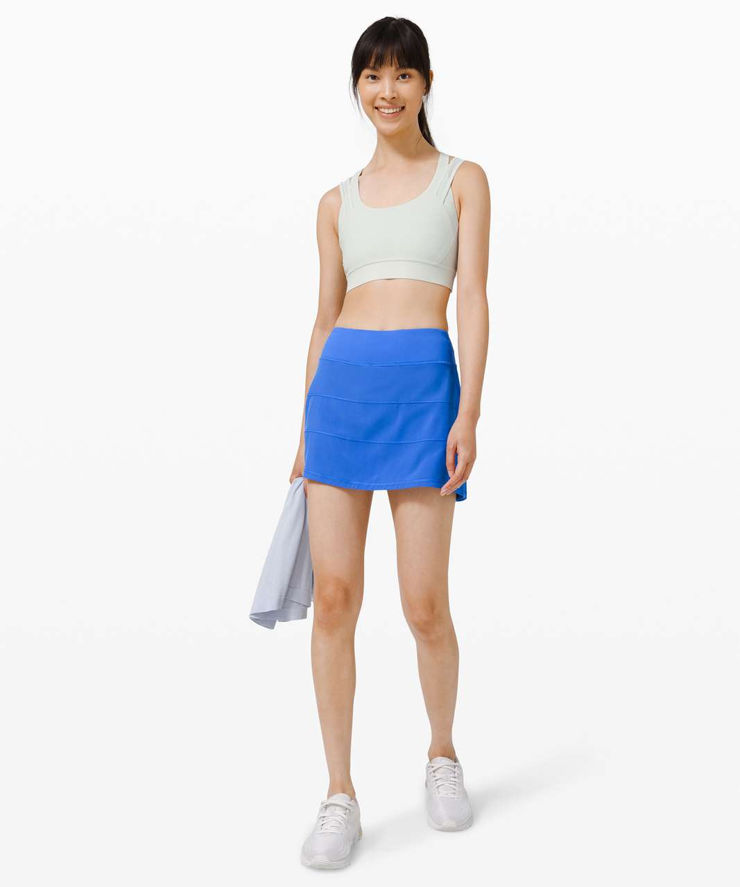 """Lululemon Pace Rival Skirt (Tall) *4-way Stretch 15"""" - Wild Bluebell"""