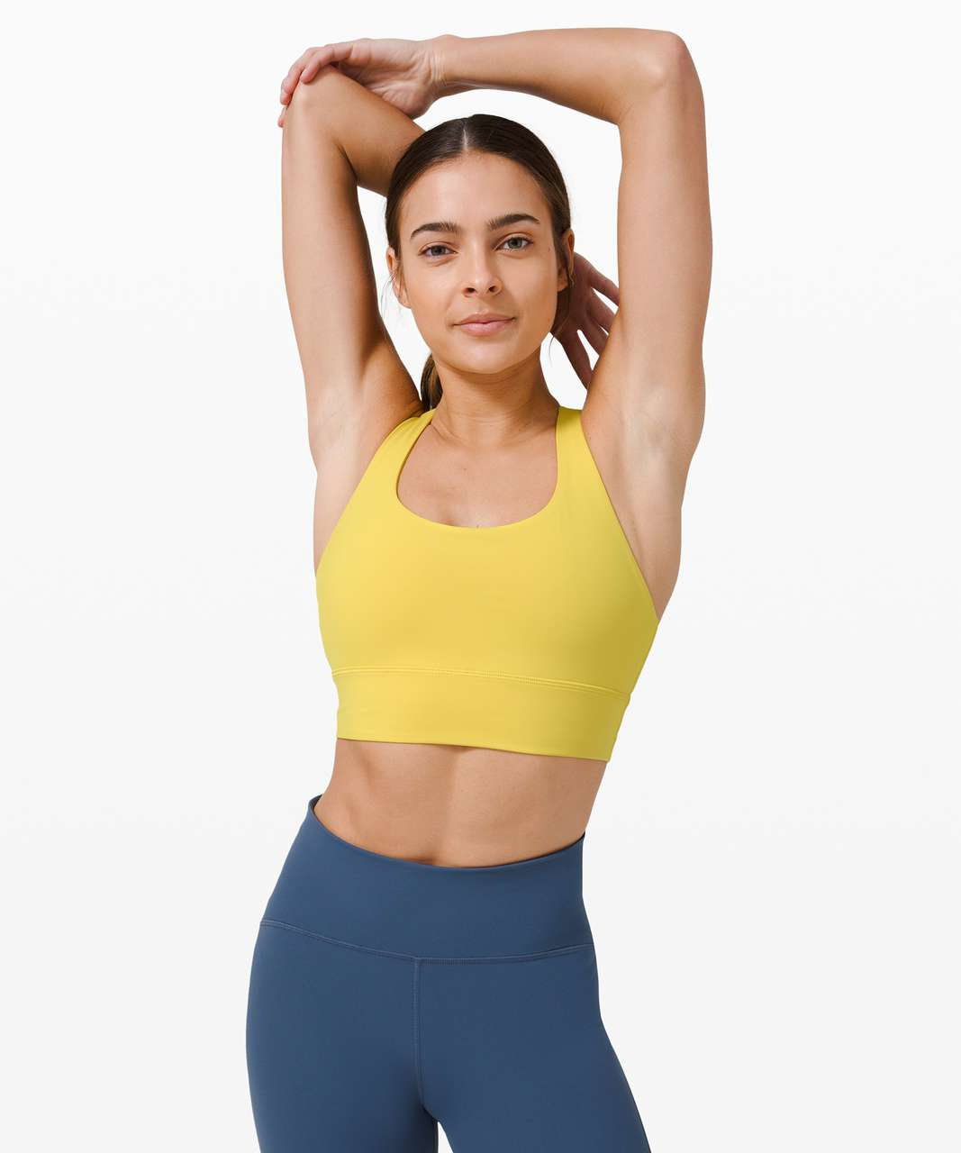 Lululemon Energy Bra Long Line *Medium Support, B/C Cup - Soleil