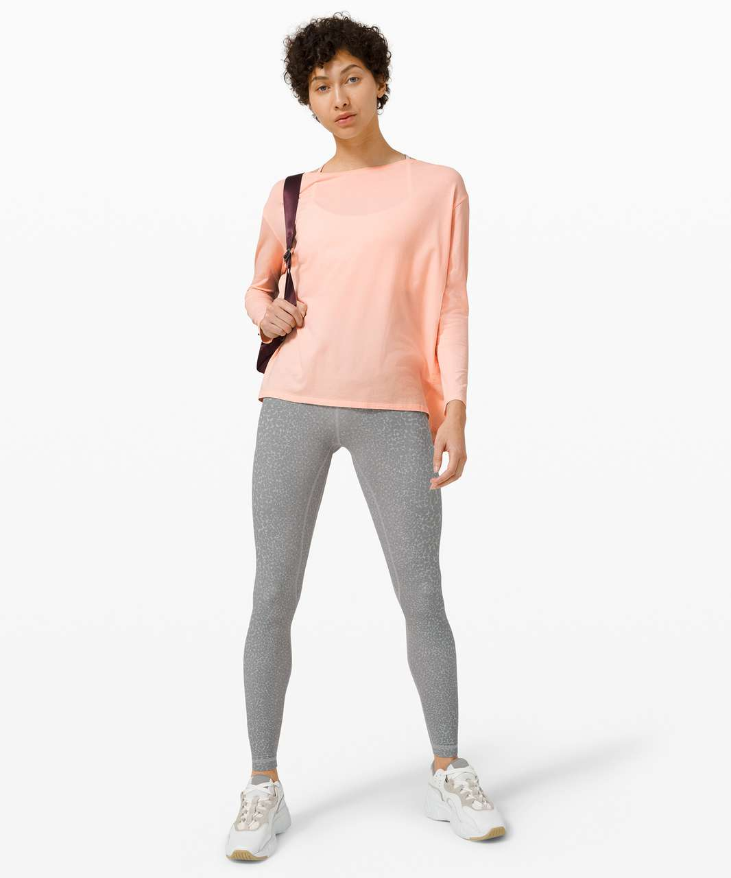 Lululemon Back In Action Long Sleeve - Ballet Slipper