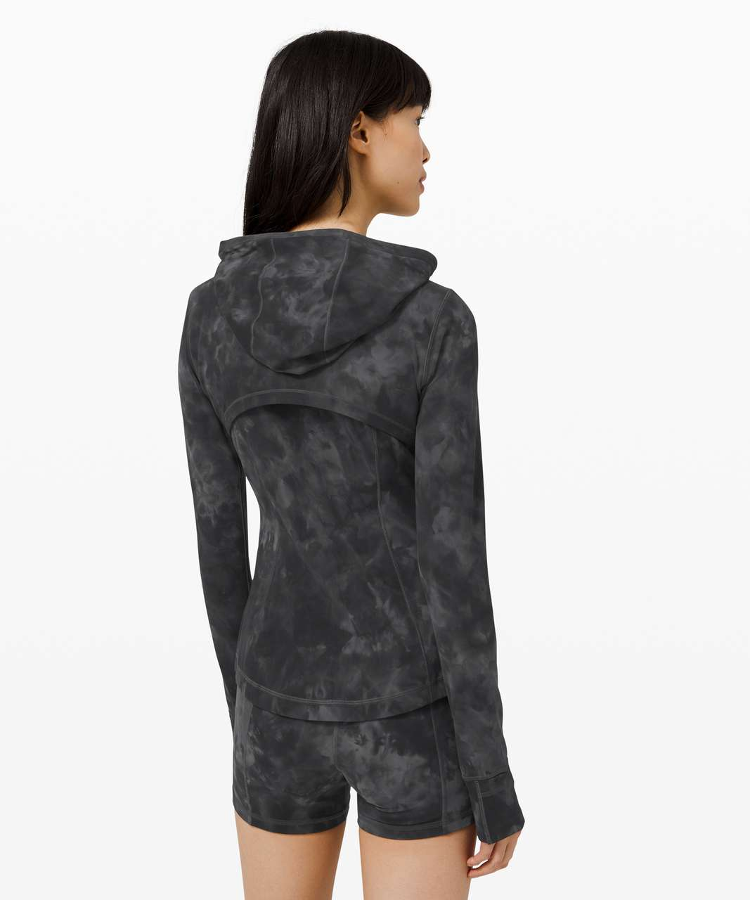 Lululemon Hooded Define Jacket *Nulu - Diamond Dye Pitch Grey Graphite Grey