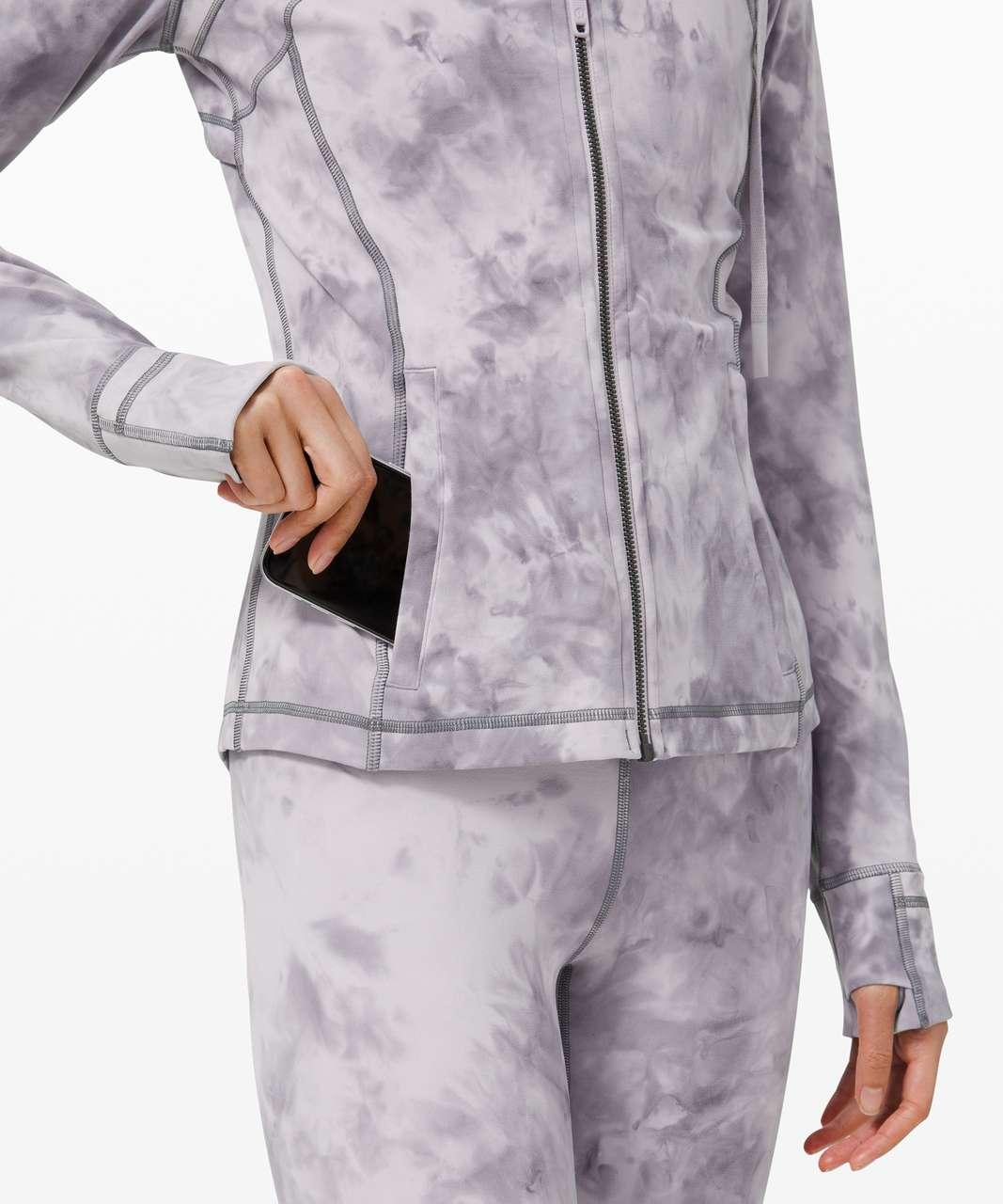 Lululemon Hooded Define Jacket *Nulu - Diamond Dye Stargaze Pitch Grey
