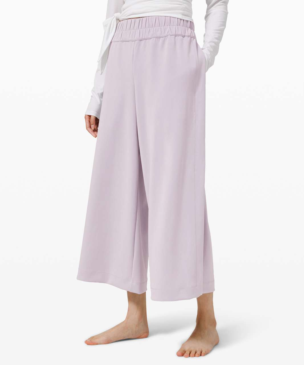 Lululemon Seek Softness Mid Rise Crop - Stargaze