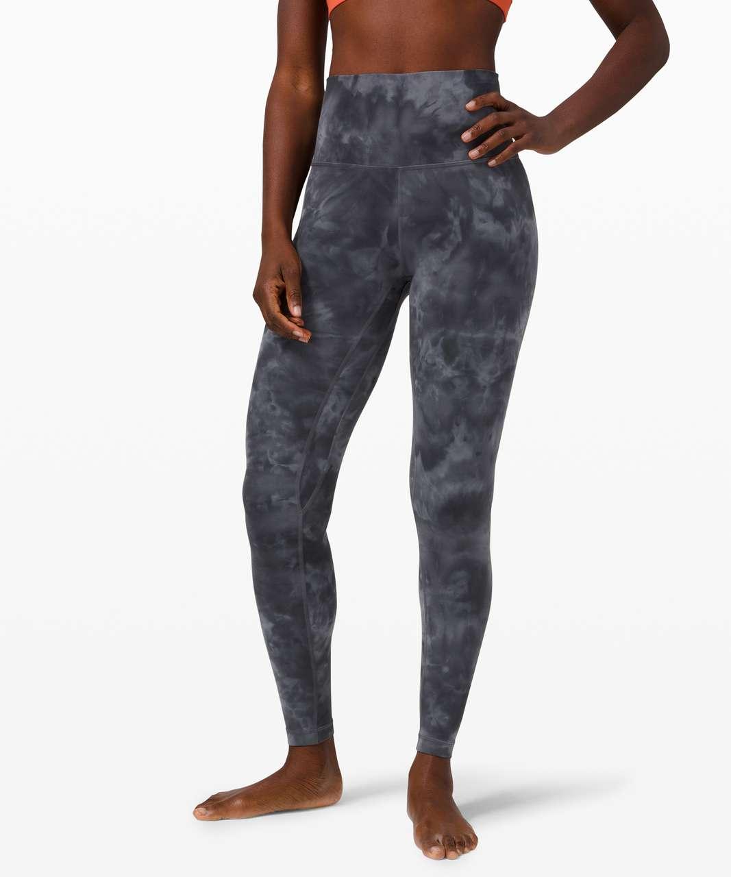 """Lululemon Align Pant 28"""" *Diamond Dye - Diamond Dye Pitch Grey Graphite Grey"""