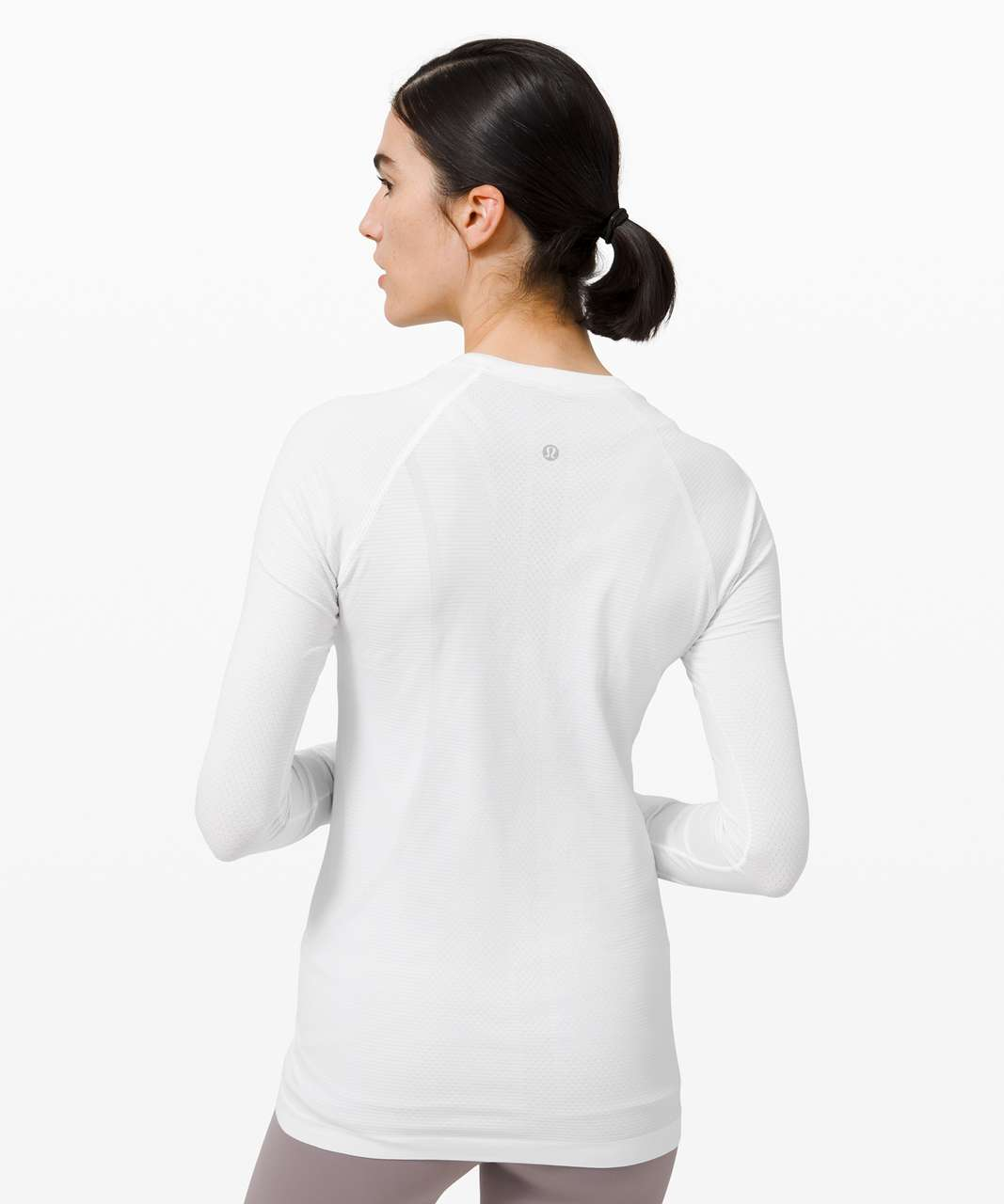 Lululemon Swiftly Tech Long Sleeve 2.0 - White / White (First Release)
