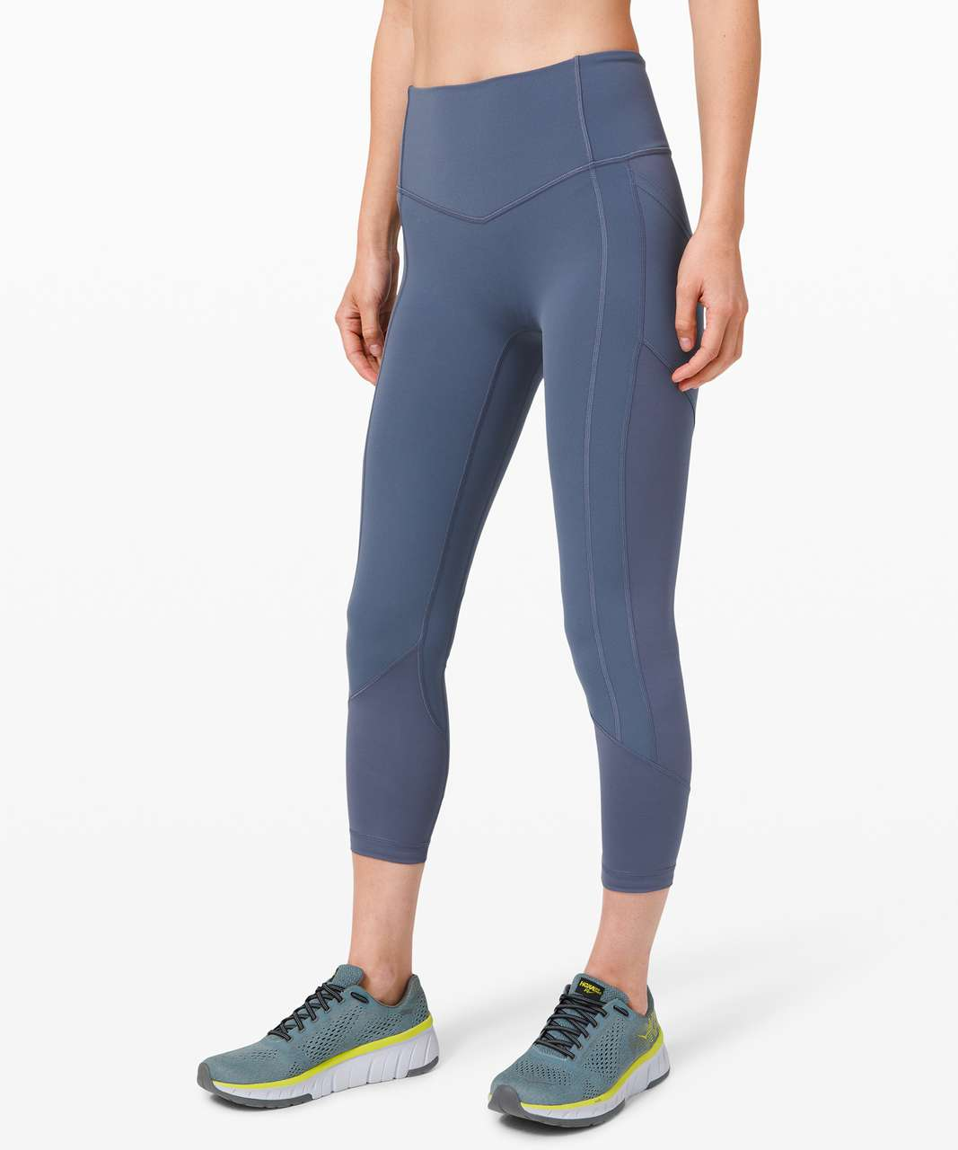 """Lululemon All The Right Places Crop II *23"""" - Ink Blue"""
