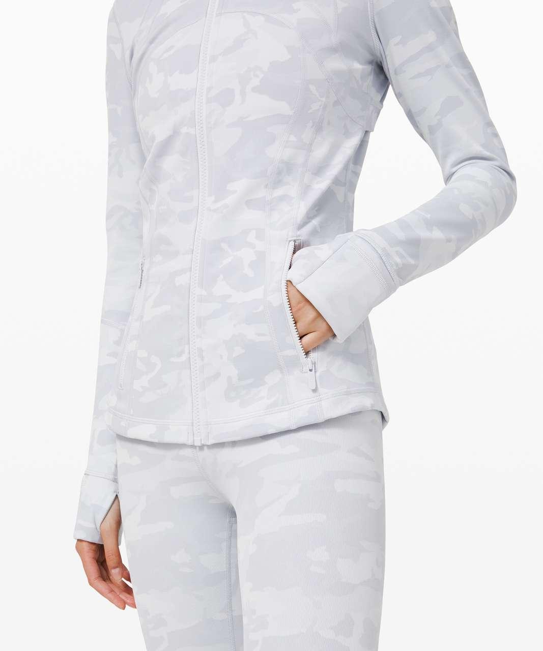 Lululemon Define Jacket *Luxtreme - Incognito Camo Jacquard Alpine White Starlight
