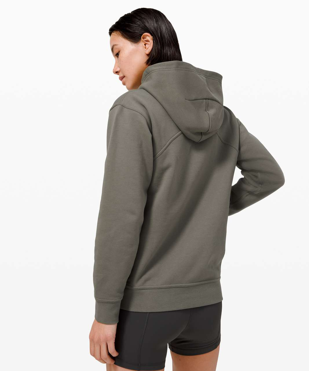 Lululemon All Yours Hoodie *Terry - Grey Sage