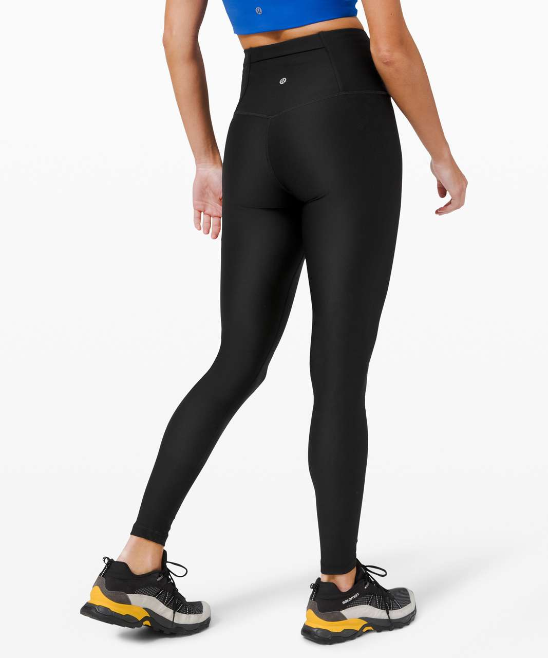 """Lululemon Mapped Out High Rise Tight 28"""" *Camo - Black / Black"""