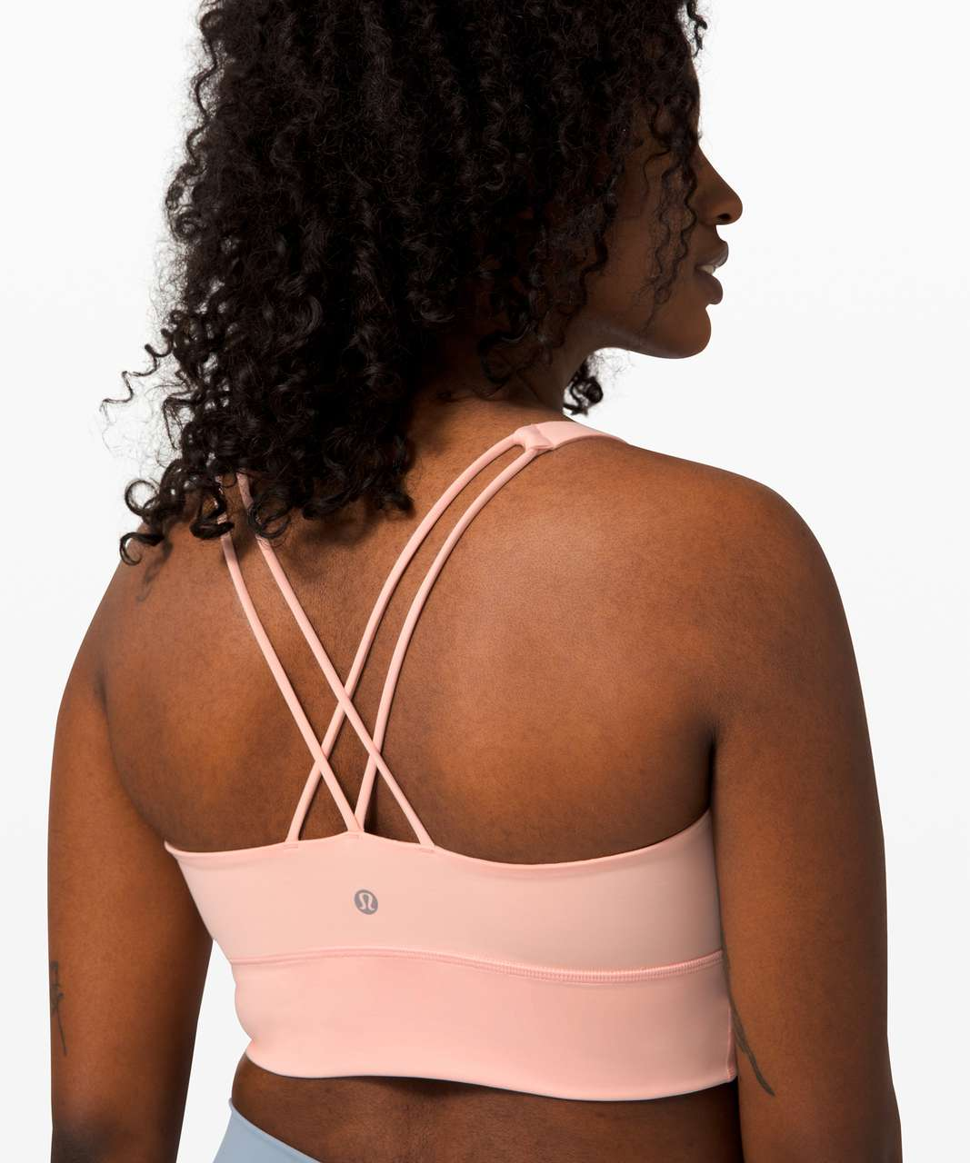 Lululemon Free To Be Bra Long Line *Light Support, A/B Cup (Online Only) - Ballet Slipper
