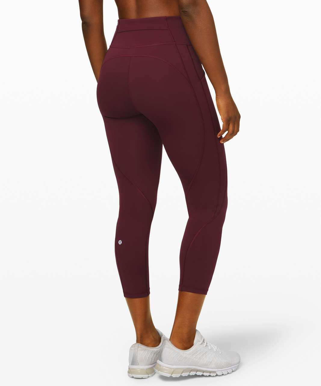 "Lululemon Time To Sweat Crop 23"" - Cassis"