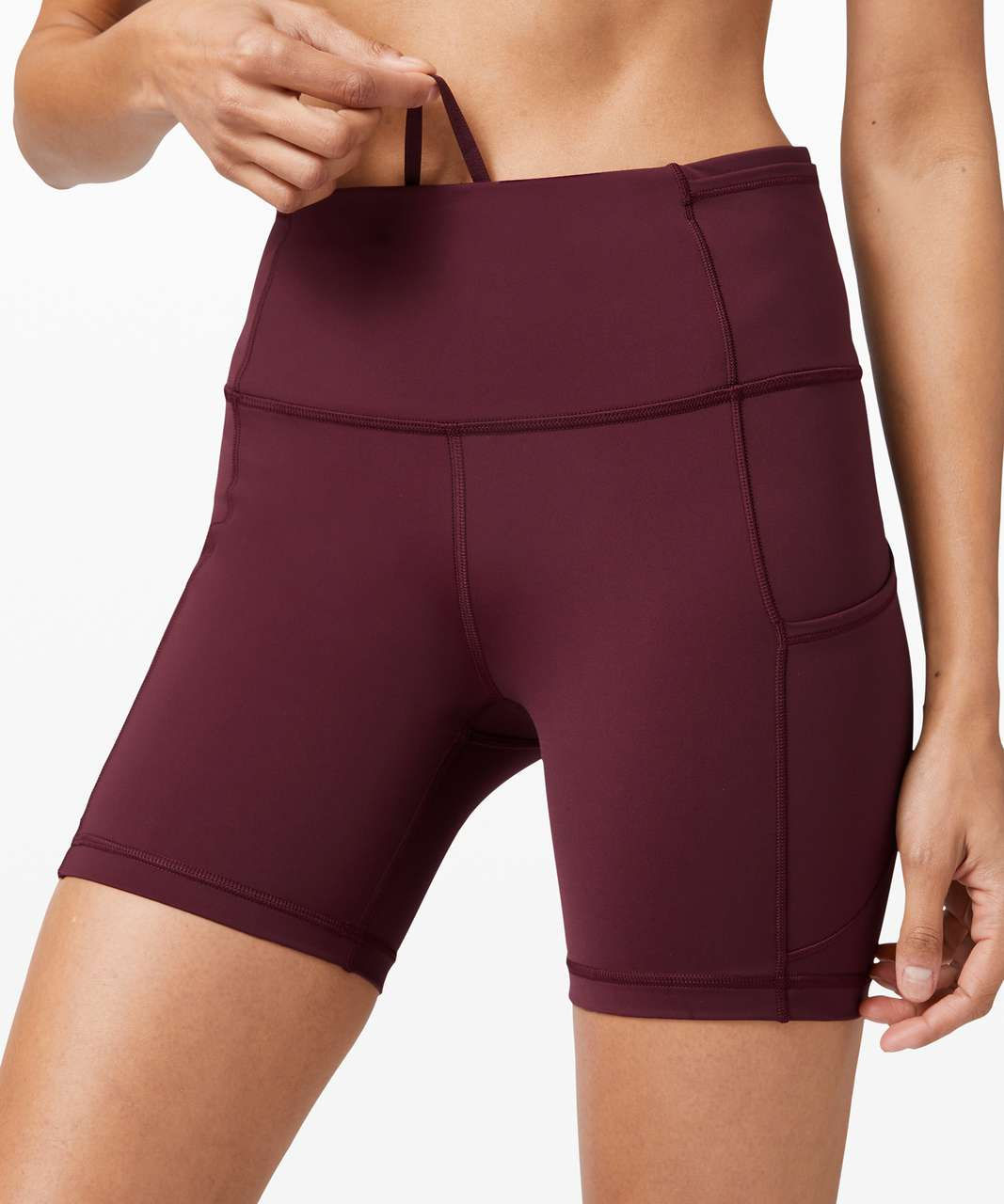 """Lululemon Fast and Free Short 6"""" *Non-Reflective - Cassis"""