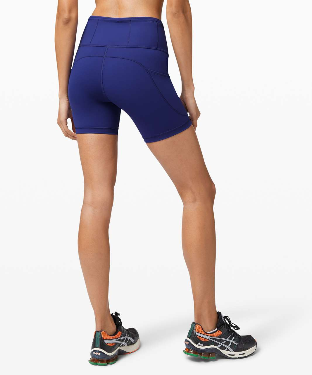 "Lululemon Fast and Free Short 6"" *Non-Reflective - Larkspur"