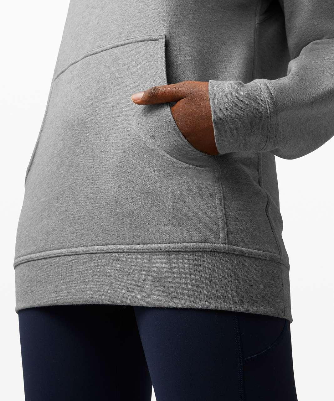 Lululemon All Yours Hoodie *Terry - Heathered Core Medium Grey
