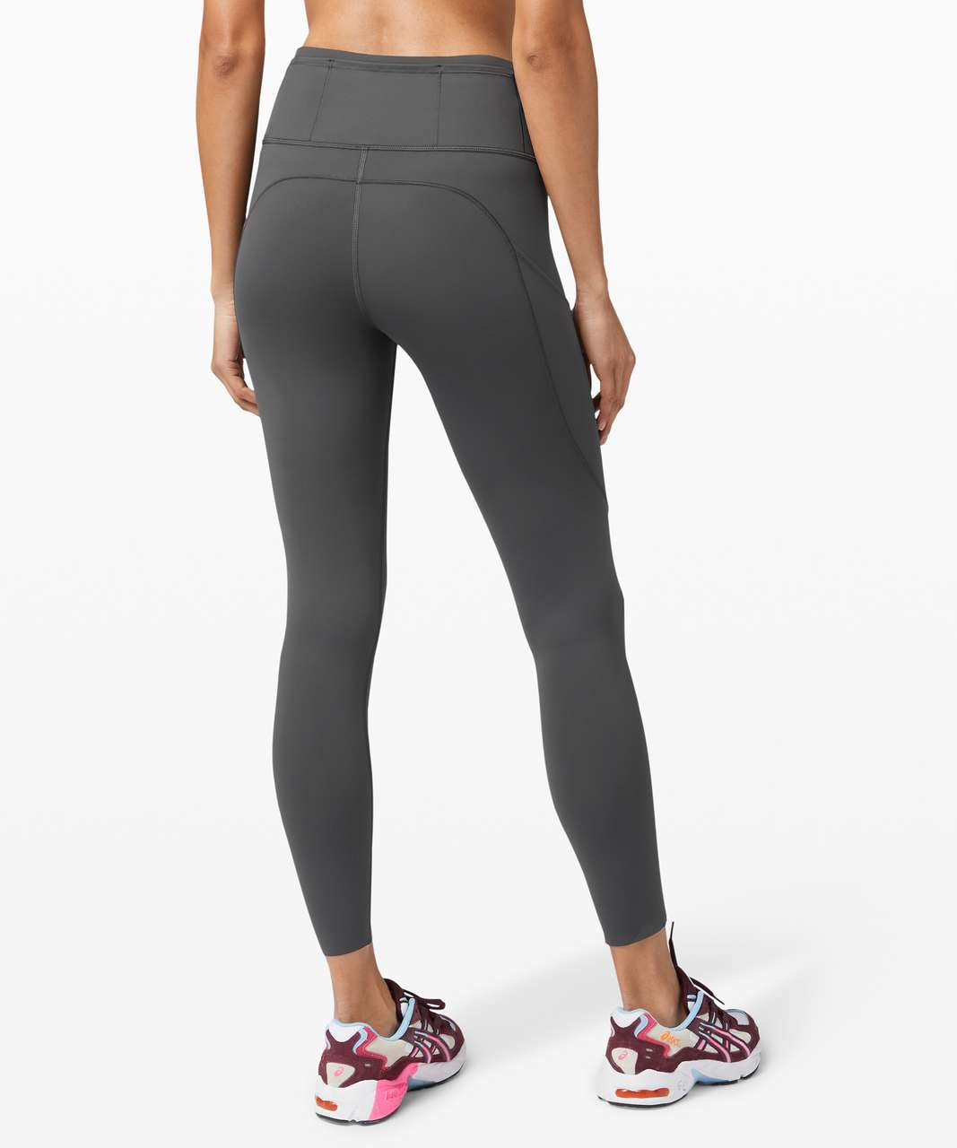 "Lululemon Fast and Free Tight II 25"" *Non-Reflective Nulux - Graphite Grey"