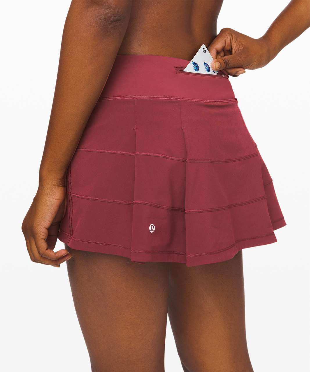 "Lululemon Pace Rival Skirt (Regular) *4-way Stretch 13"" - Chianti"