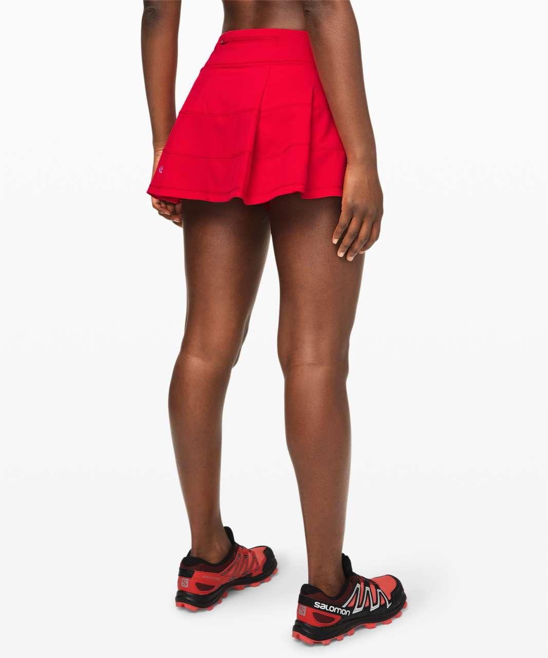 "Lululemon Pace Rival Skirt (Regular) *4-way Stretch 13"" - Dark Red"