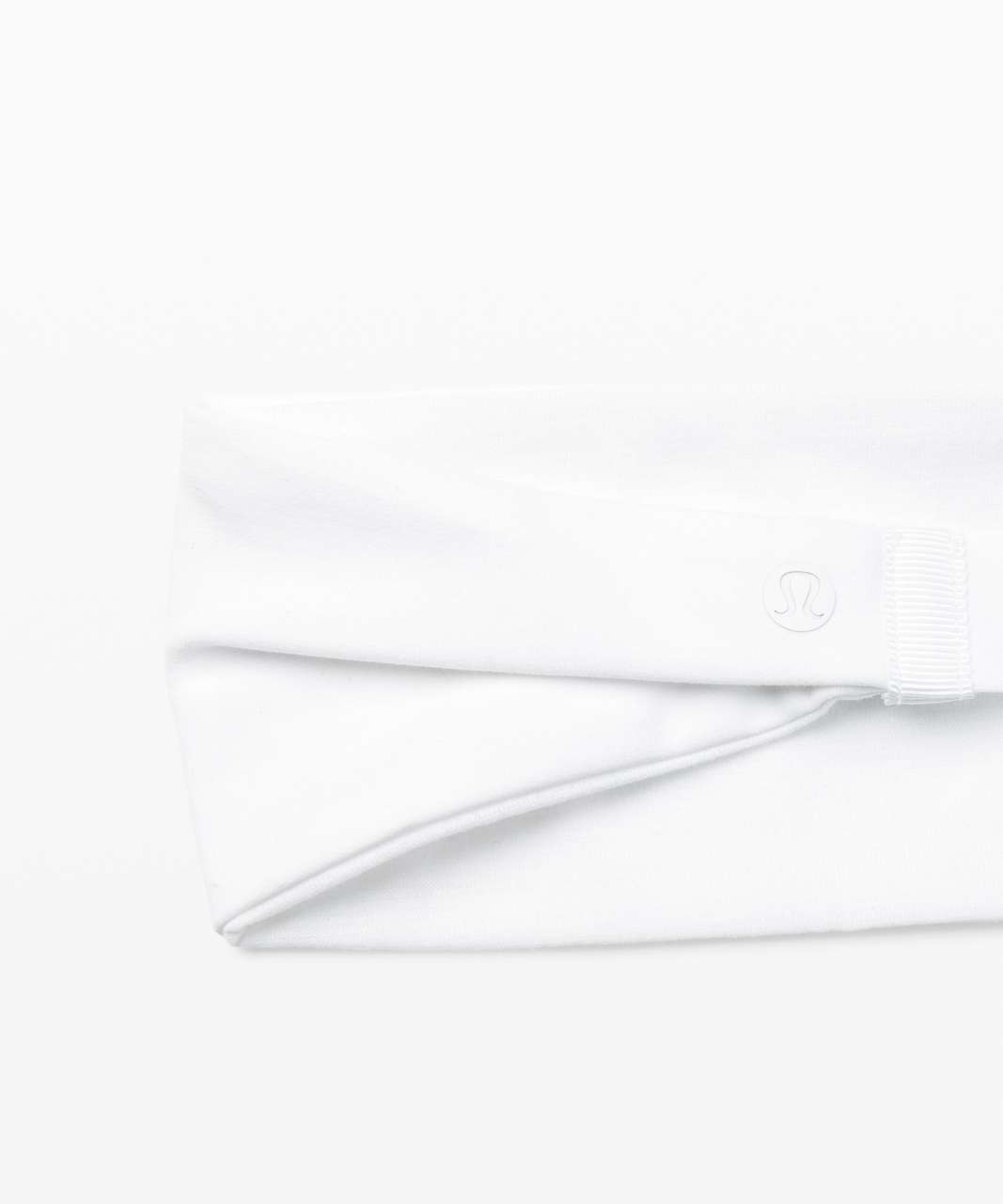 Lululemon Fringe Fighter Headband - White / White